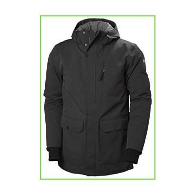Helly Hansen Men's Urban Waterproof Breathable Insulated Parka Jacket, 990 Black, Small【並行輸入】【新品】
