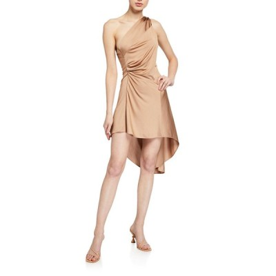 アレクシス レディース ワンピース トップス Mellie One-Shoulder High-Low Dress