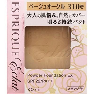 エスプリーク エクラ 明るさ持続 パクト EX ベージュオークル310e【ケース別売り】[配送区分:A]