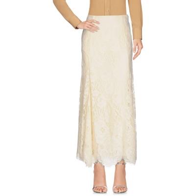 POLO RALPH LAUREN ロングスカート アイボリー 2 コットン 59% / ナイロン 41% ロングスカート