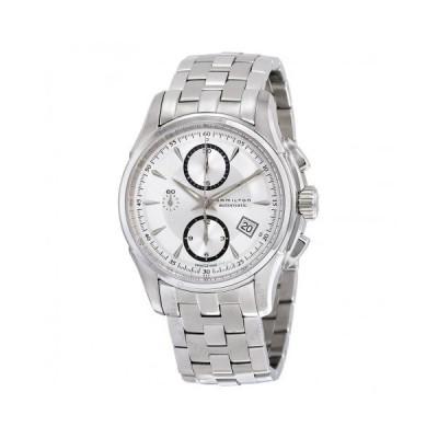 Hamilton/ハミルトン メンズ 腕時計 Jazzmaster 自動巻き クロノグラフ シルバー Dial ステンレス鋼 メンズ Watch H32616153