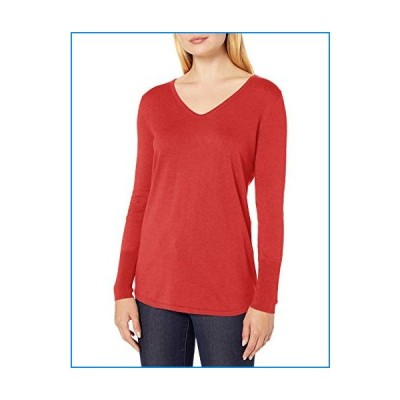 NIC+ZOE Women's Vital V-Neck, pop Red, Extra Large【並行輸入品】