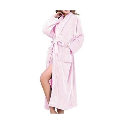 バスローブ レディース メンズ 厚手 部屋着 お風呂上がり ルームウェア フランネル HOMEYA ボディタオル パジャマ 綿 ふわふわ 暖