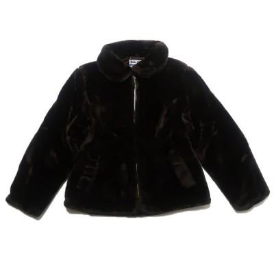 USA製 ファージャケット サイズ表記:--