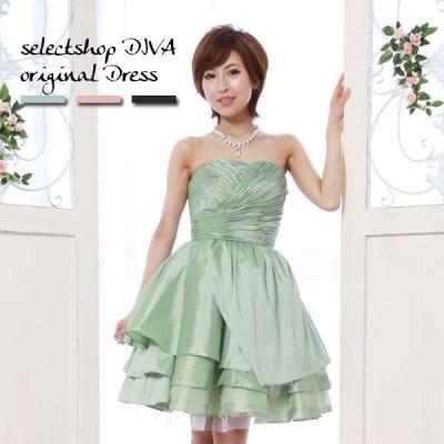 ドレス/結婚式/二次会/パーティードレス/フォーマル/ウェディング/シャーリングハートカップ プリンセス