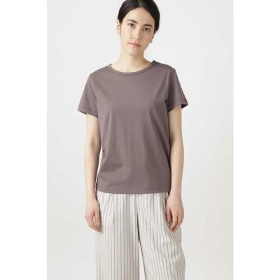 新きょう綿Tシャツ チャコール1