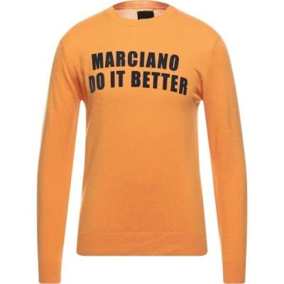 マルシアーノ MARCIANO メンズ ニット・セーター トップス sweater Orange