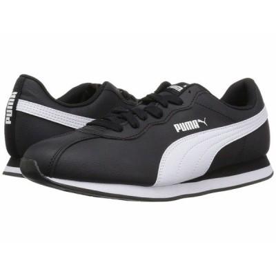プーマ スニーカー シューズ メンズ Turin II Puma Black/Puma White