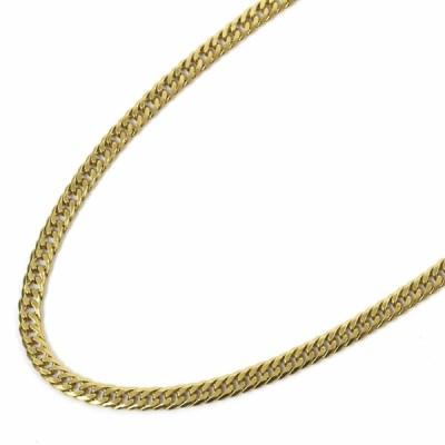 ノーブランド 喜平 6面 ダブル 全長約 52cm 約 28.8g ネックレス ユニセックス K18イエローゴールド ジュエリー ゴールド 中古 送料無料