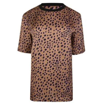 ポールスミス Paul Smith レディース トップス cheetah print top BEIGE