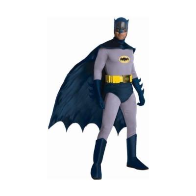 Rubie's コスチューム グランド ヘリテージ クラシック TV バットマン Batman Circa 1966, ブラック/Gr(海外取寄せ品)