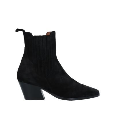 ELIA MAURIZI ショートブーツ ブラック 36 革 ショートブーツ