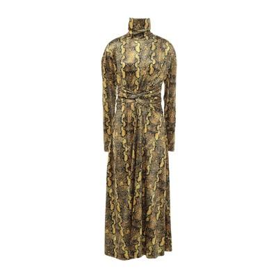 WEILI ZHENG 7分丈ワンピース・ドレス オークル XS ポリエステル 95% / ポリウレタン 5% 7分丈ワンピース・ドレス