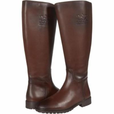 コーチ COACH レディース ブーツ シューズ・靴 Fynn Leather Boot II Wide Walnut