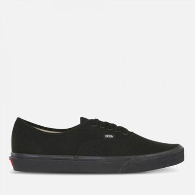 ヴァンズ Vans メンズ スニーカー シューズ・靴 authentic trainers - black/black