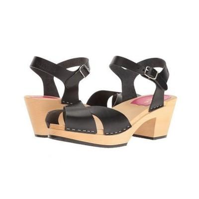 Swedish Hasbeens スウェディッシュハズビーンズ レディース 女性用 シューズ 靴 ヒール Mirja - Black