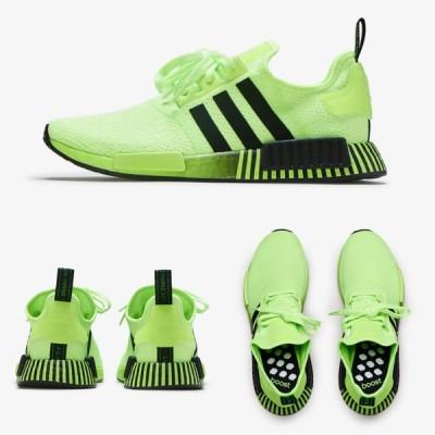 Adidas/アディダス adidas メンズ スニーカー グリーン ブラック NMD R1 FV3647