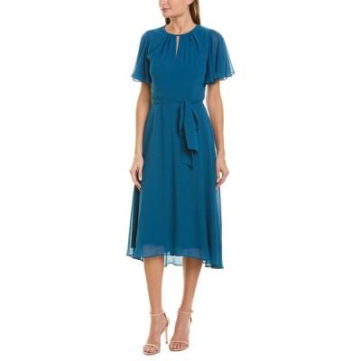 タハリ ワンピース トップス レディース Tahari ASL Sheath Dress ocean blue