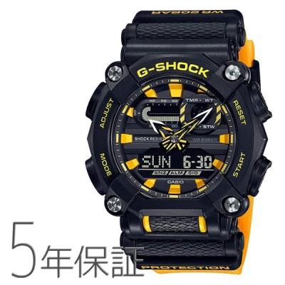 G-SHOCK Gショック GA-900A-1A9JF CASIO カシオ 黄色 イエロー 腕時計 メンズ