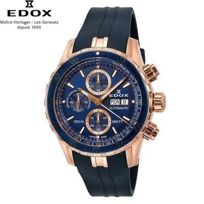 無金利ローン可 3年間無料点検付 エドックス EDOX 01123-37RBU5-BUIR5 グランドオーシャン GRAND OCEAN メンズ 腕時計 クロノグラフ 自動巻