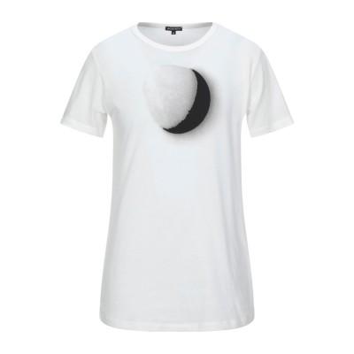 アン ドゥムルメステール ANN DEMEULEMEESTER T シャツ アイボリー XS コットン 100% T シャツ