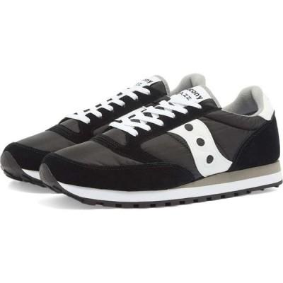 サッカニー Saucony メンズ スニーカー シューズ・靴 jazz original Black/White
