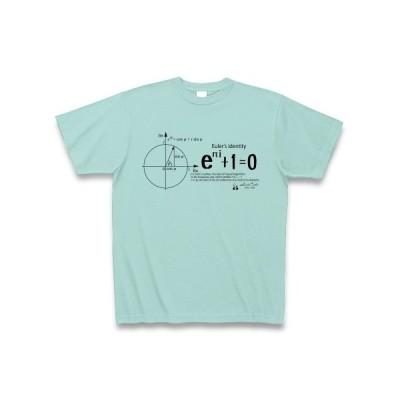 数学Tシャツ:オイラーの等式D_黒:学問・数式・科学