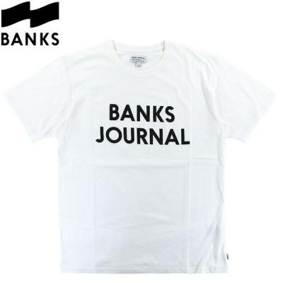 バンクス メンズ Tシャツ カットソー ブランドロゴ シンプル プリント サーフブランド 半袖 S/S TEE BANKS SMTS0065