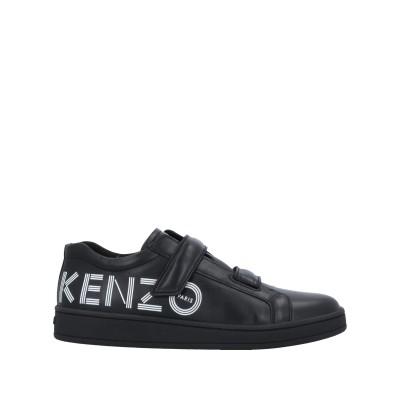 ケンゾー KENZO スニーカー&テニスシューズ(ローカット) ブラック 39 革 スニーカー&テニスシューズ(ローカット)