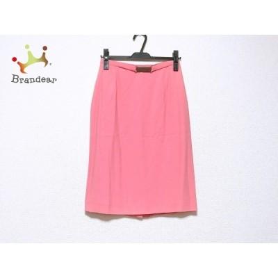 セリーヌ CELINE スカート サイズ38 M レディース - ピンク ひざ丈   スペシャル特価 20201123