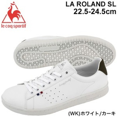 スニーカー レディース シューズ ルコック le coq sportif LA ローラン SL/コートスタイル 定番 スポーティ カジュアル 女性 運動靴 ロー