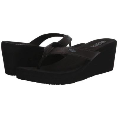 フロジョス Flojos レディース サンダル・ミュール シューズ・靴 Olivia Vintage Black