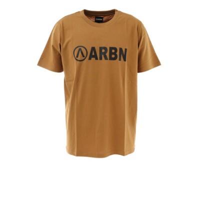 エアボーン(ARBN)ロゴTシャツ SSAIRB-O002BEG/BLK