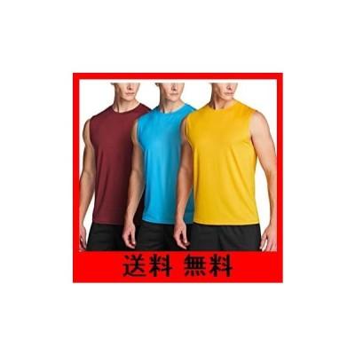 (テスラ)TESLA タンクトップ メンズ スポーツウェア ノースリーブ シャツ [UVカット・吸汗速乾・超軽量] ランニングウェア トレーニング