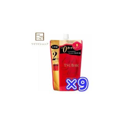 【送料無料】TUBAKI(ツバキ) プレミアムモイスト ヘアコンディショナー つめかえ用 660mlX9袋 資生堂