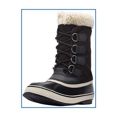 【新品】SOREL レディース ウィンターカーニバル 防水ブーツ 冬用 US サイズ: 6.5 カラー: ブラック【並行
