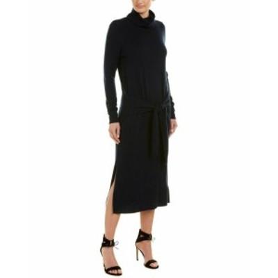ファッション ドレス Sandro Midi Wool & Cashmere-Blend Sweaterdress 2 Blue