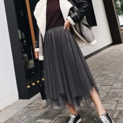 韓国 ファッション スカート アシメントリースカート 韓国 ファッション レディース 秋 秋冬 オルチャン ファッション 秋 オルチャン ス