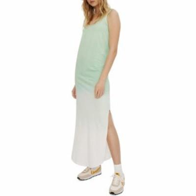 イレブン パリ ELEVENPARIS レディース ワンピース ワンピース・ドレス Tie Dye Jersey Slipdress Nile Green
