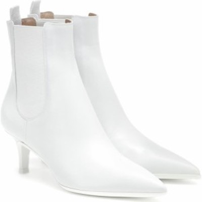 ジャンヴィト ロッシ Gianvito Rossi レディース ブーツ ショートブーツ シューズ・靴 leather ankle boots white