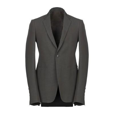 リック オウエンス RICK OWENS テーラードジャケット ダークブラウン 46 コットン 61% / レーヨン 39% テーラードジャケット