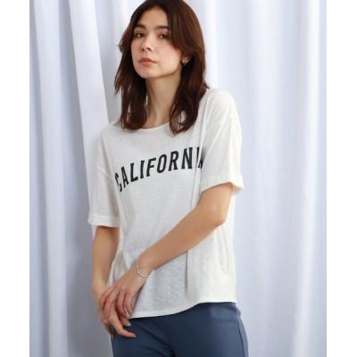 WORLD ONLINE STORE SELECT / 【ウォッシャブル】ヴィンテージライクロールアップスリーブTシャツ WOMEN トップス > Tシャツ/カットソー
