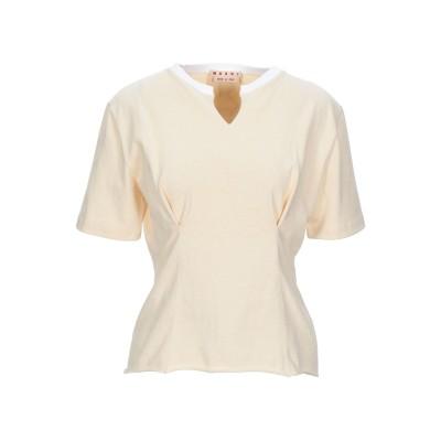 マルニ MARNI T シャツ ベージュ 36 コットン 100% T シャツ