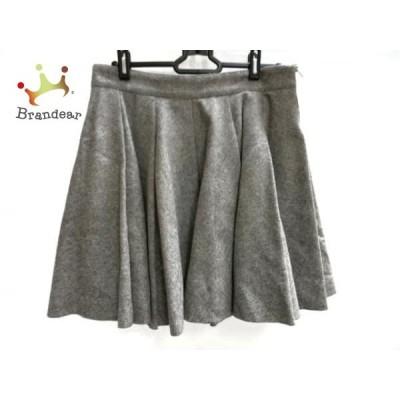 ミューズデドゥーズィエムクラス スカート サイズ38 M レディース グレー         スペシャル特価 20200529
