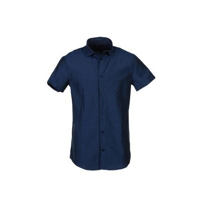 アルマーニ ジーンズ ARMANI JEANS シャツ ブルー XS コットン 50% / ポリエステル 50% シャツ
