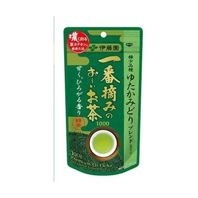 伊藤園 一番摘みのおーいお茶 1000 ゆたかみどり 100g