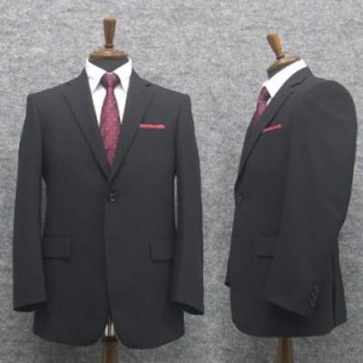春夏物 ベーシック2釦スーツ 黒/無地 [A体][AB体] RG111100A