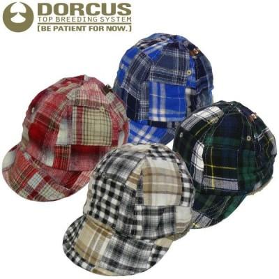 DORCUS-TBS パッチワークキャップ スケート ボード スケボーショップ チェック ミリタリー HAT ビンテージ CAP