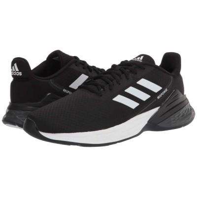 アディダス スニーカー シューズ メンズ Response SR Core Black/Footwear White/Grey Six