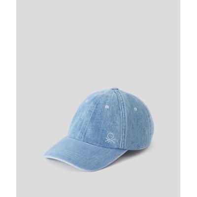 BENETTON (UNITED COLORS OF BENETTON) / デニムベースボールキャップ・帽子 MEN 帽子 > キャップ